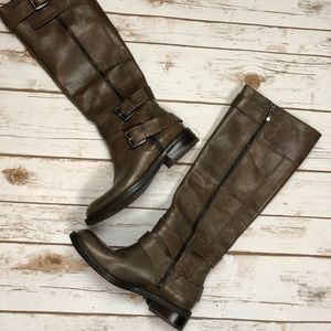 Enzo Angiolini Brown Riding Boots Sz 7.5 🎀
